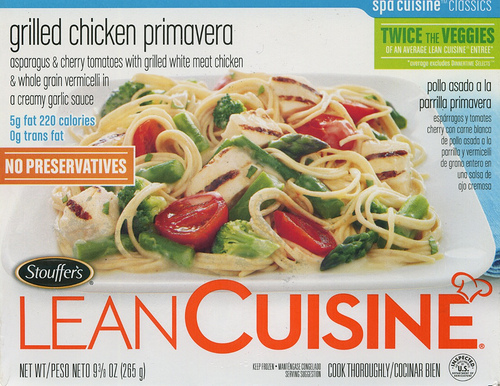 Lean Cuisine Grilled Chicken Primavera - Package