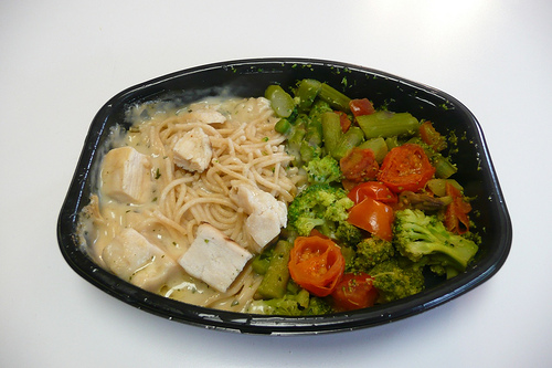 Lean Cuisine Grilled Chicken Primavera - Pre-stir