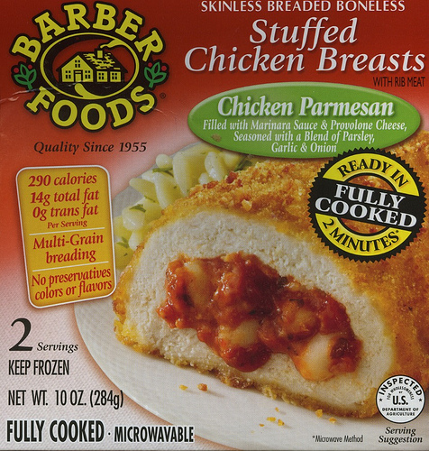 Barber Foods Stuffed Chicken Breasts - Ad