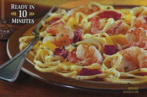 Bertolli Shrimp Scampi and Linguine - Ad