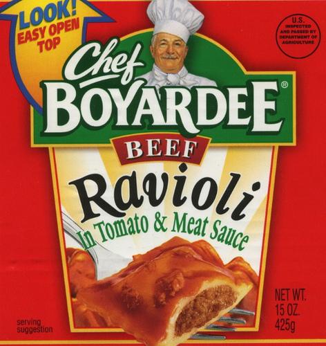 Chef Boyardee Beef Ravioli - Ad
