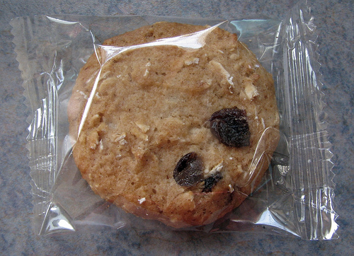 Weight Watchers Oatmeal and Raisin Cookie