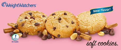 Weight Watches Cookies - Ad