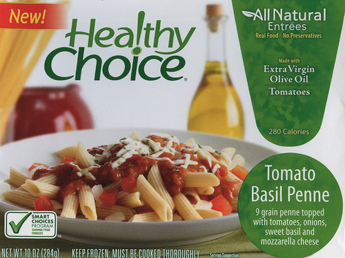 Healthy Choice Tomato Basil Penne - Ad