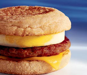 McDonald's Sausage Egg McMuffin - Ad