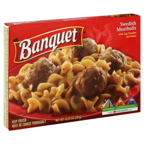 Banquet Swedish Meatballs - Ad