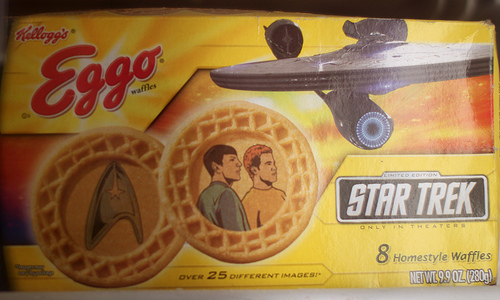 Star Trek Eggo Waffles - Packaging