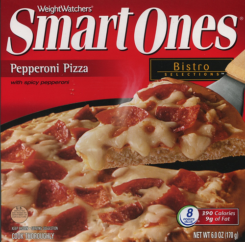 SmartOnes Pepperoni Pizza - Ad