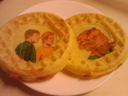 Star Trek Eggo Waffles