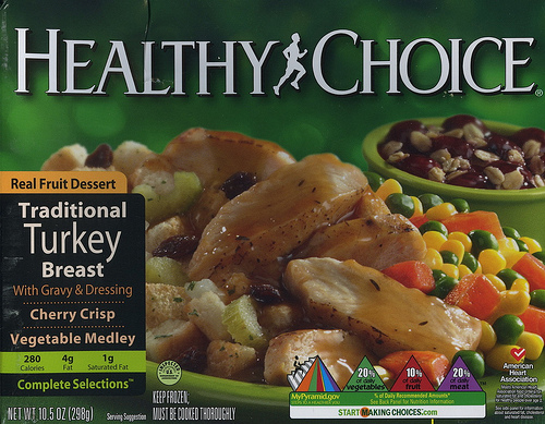 Healthy Choice Turkey Breast - Ad