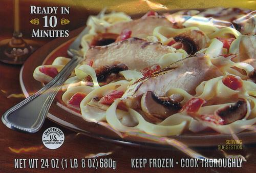 Bertolli Chicken Alfredo & Fettuccine - Ad