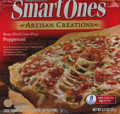 SmartOnes Artisan Creations Pepperoni Pizza - Ad