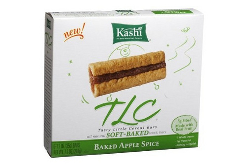 Kashi Baked Apple Spice Cereal Bar - Ad