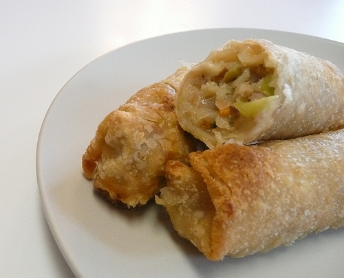 All The Pasta You Can Eat With Olive Garden S Never Ending: Asian Style Sensations Pork & Shrimp Egg Rolls « Food In