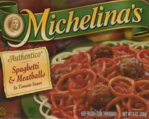 Michelina's Spaghetti & Meatballs - Ad