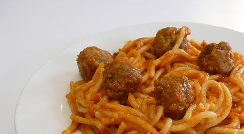 Michelina's Spaghetti & Meatballs