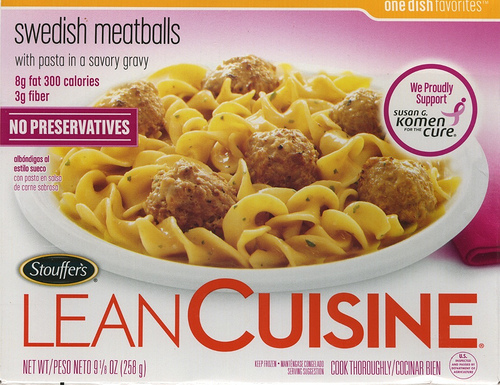 Lean Cuisine Swedish Meatballs - Ad