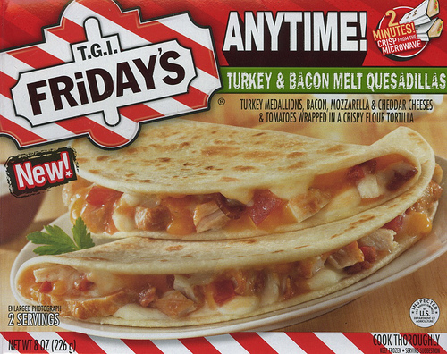 TGI Friday's Turkey & Bacon Melt Quesadillas - Ad