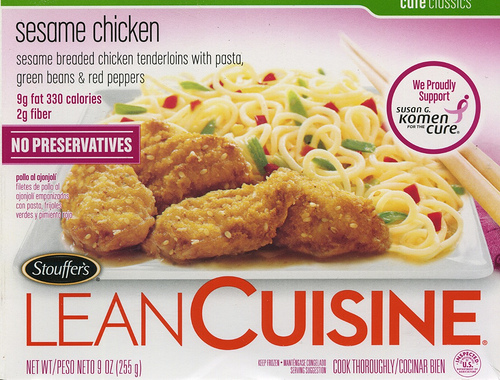 Lean Cuisine Sesame Chicken - Ad