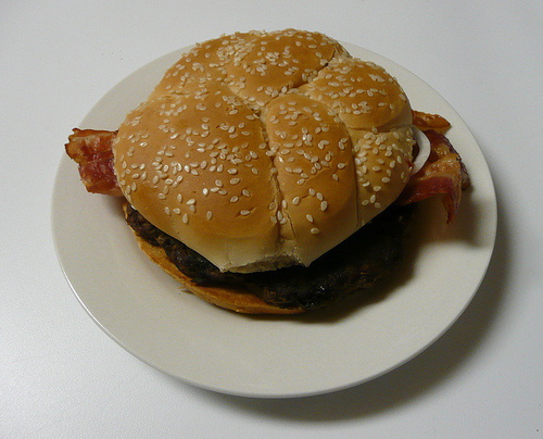 McDonald's Bacon and Cheese Angus Third-Pounder