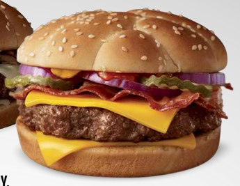 McDonald's Bacon and Cheese Angus Third-Pounder - Ad