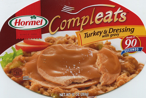 Hormel Compleats Turkey & Dressing - Ad