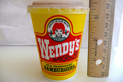 Wendy's Frosty - Measured
