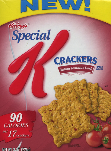 Special K Italian Herb & Tomato Crackers - Ad