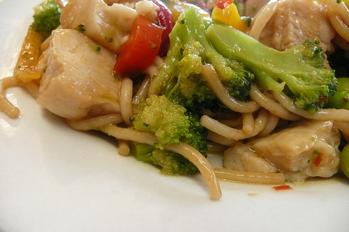 Lean Cuisine Sesame Stir Fry with Chicken - Closeup