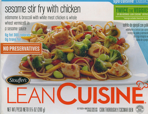 Lean Cuisine Sesame Stir Fry with Chicken - Ad