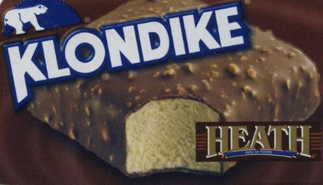 Heath Klondike Bar - Ad