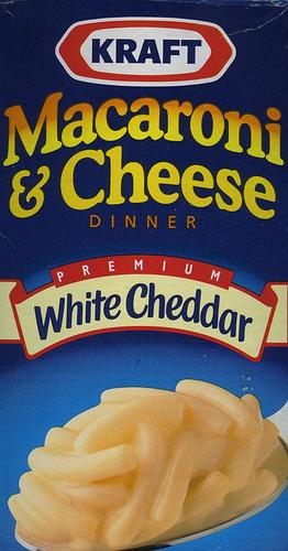 Kraft White Cheddar Macaroni & Cheese - Ad