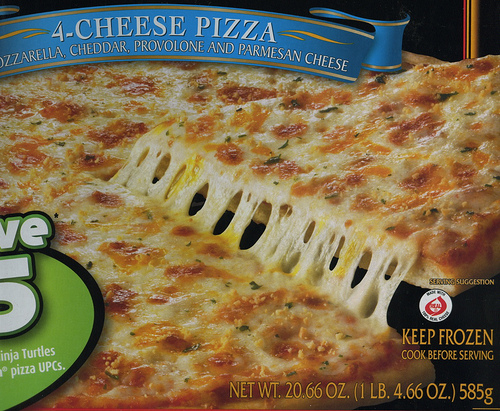 Red Baron 4-Cheese Pizza - Ad