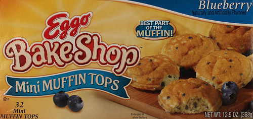 Eggo BakeShop Mini Muffin Tops - Ad