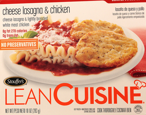 Lean Cuisine Cheese Lasagna & Chicken - Ad