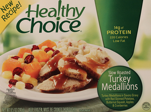Healthy Choice Turkey Medallions - Ad
