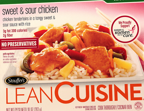 Lean Cuisine Sweet & Sour Chicken - Ad