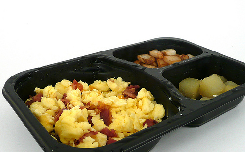 Jimmy Dean Scrambled Eggs with Bacon and Cheese