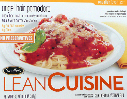 Lean Cuisine Angel Hair Pomodoro - Ad
