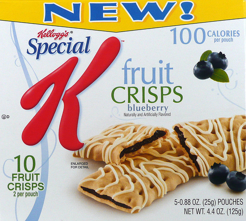 Special K Blueberry Fruit Crisps - Ad