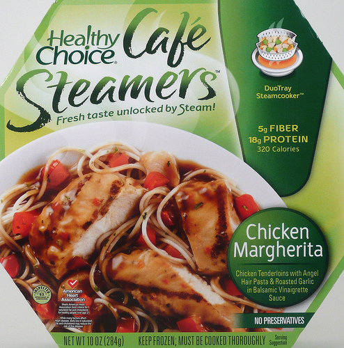 Healthy Choice Chicken Margherita Cafe Steamer - Ad