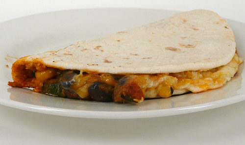 Lean Cuisine Baja-Style Chicken Quesadilla