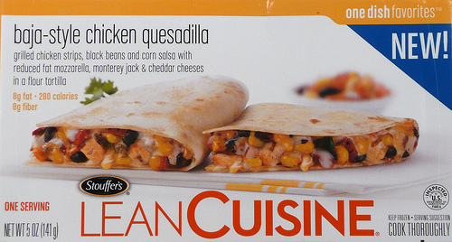 Lean Cuisine Baja-Style Chicken Quesadilla - Ad
