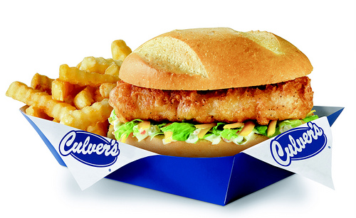 Culver's Walleye Sandwich - Ad