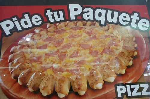 Pizza Hut Cheesy Pops Pizza - Ad