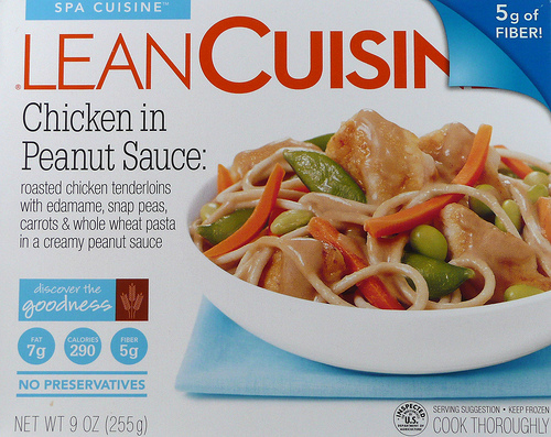 Lean Cuisine Chicken in Peanut Sauce - Ad