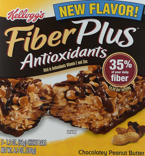 FiberPlus Chocolatey Peanut Butter Bars - Ad