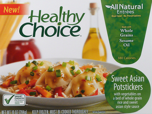 Healthy Choice Sweet Asian Potstickers - Ad