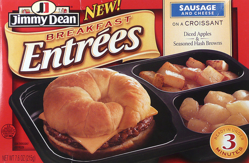 Jimmy Dean Sausage and Cheese Breakfast Entree - Ad