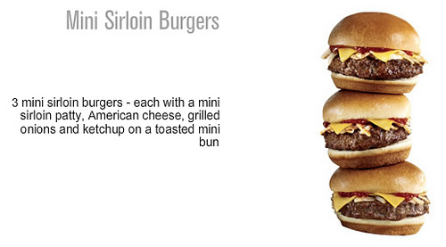jack in the Box Mini Sirloin Burgers - Ad